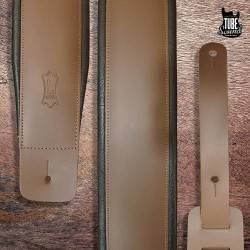 Levy's DM1PD-BRN Genuine Leather Guitar Strap Brown