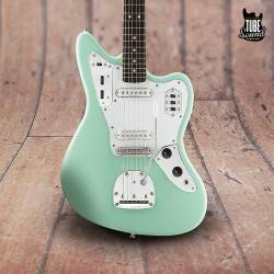 Squier Jaguar Vintage Modified RW Surf Green