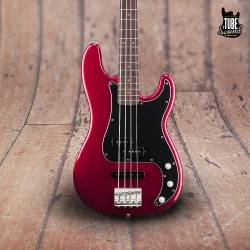 Squier Precision Bass PJ Vintage Modified  RW Candy Apple Red