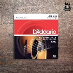 D'Addario 80-20 Bronze Acoustic Medium 13-56