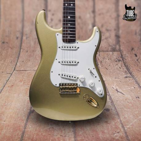 Fender Custom Shop Stratocaster '65 Ltd. Ed. 50th Anniversary Relic RW Aztec Gold