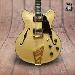 D'Angelico EX-DC Standard Gold Natural Clear