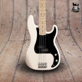 Fender Precision Bass Dee Dee Ramone MN Olympic White