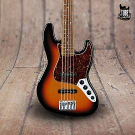 Fender Jazz Bass Deluxe Active V RW Brown Sunburst
