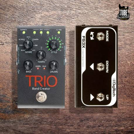 DigiTech Kit Trio Band Creator + FS3X