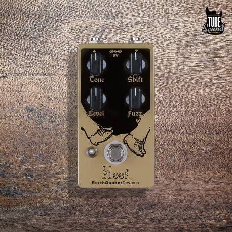 EarthQuaker Devices Hoof V2 Germanium-Silicon Hybrid Fuzz