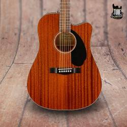 Fender CD-60SCE All-Mahogany Natural