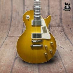 Gibson Custom Les Paul Standard Historic 58 Plaintop VOS Lemon Burst