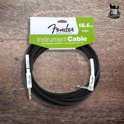 Fender FG186L Performance Series Instrument Cables 5.5m. Codado Black