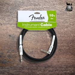 Fender Performance Series Instrument Cables 3m. Codado Black