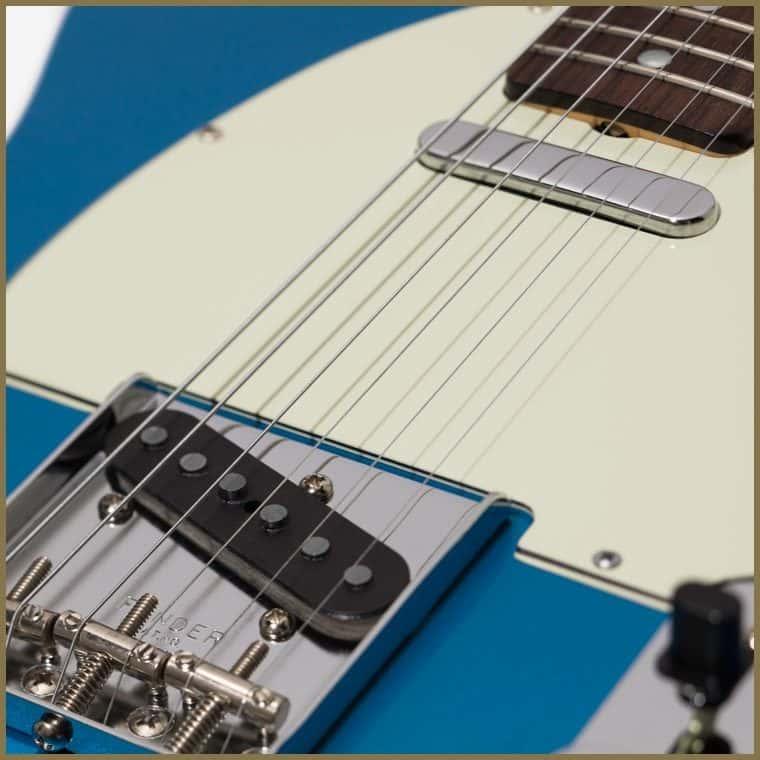 Auténtico tono y estilo Fender