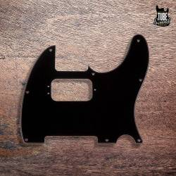 Fender Tele Pickguard 8 Holes Humbucker Black