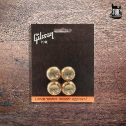 Gibson Top Hat Knobs 4 Gold