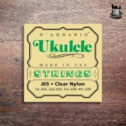 D'Addario Clear Nylon Ukelele Strings 24-28