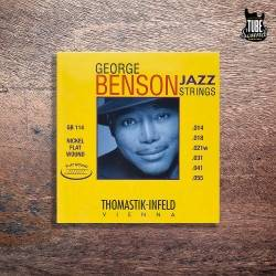 Thomastik-Infeld Nickel Flat Wound George Benson Jazz Electric 12-53