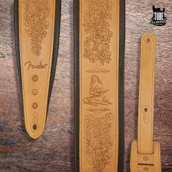 Fender FS1T02-RUS Hawaii Strap Brown
