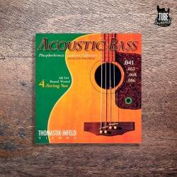Thomastik Infeld AB344 Round Wound Phosphor Bronze Acoustic Bass 41-86