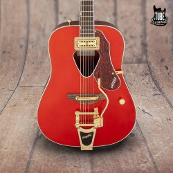 Gretsch G5034TFT Rancher Dreadnought Bigsby RW Savannah Sunset