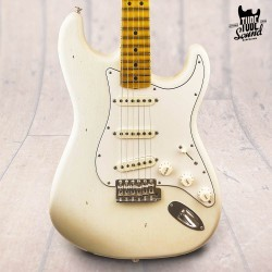 Fender Custom Shop Stratocaster Jimi Hendrix Voodoo Child Journeyman Relic MN Olympic White