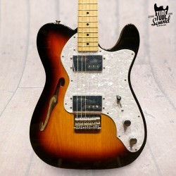 Fender Telecaster Classic Series '72 Thinline MN 3 Color Sunburst