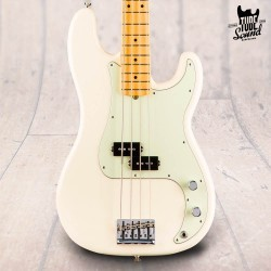 Fender Precision Bass American Professional MN Olympic White