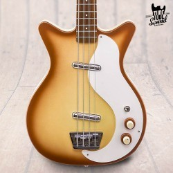 Danelectro '59 DC Long Scale Bass Copper Burst