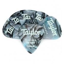 Taylor 80726 Thermex Ultra Picks Blue Swirl 1mm