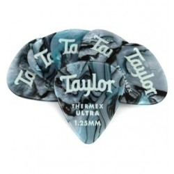 Taylor 80727 Thermex Ultra Picks Blue Swirl 1.25mm
