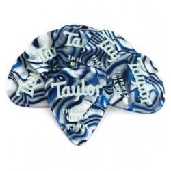 Taylor 80728 Thermex Ultra Picks Blue Swirl 1.50mm