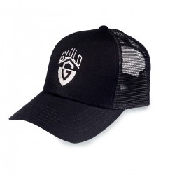 Guild G-Shield Logo Trucker Hat Black