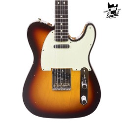 Fender Custom Shop Custom Order Telecaster 65 Journeyman RW Chocolate 3 Color Sunburst