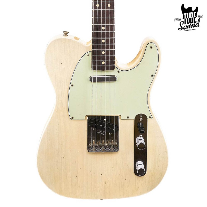 Fender Custom Shop Custom Order Telecaster 60 Journeyman RW Aged White Blonde