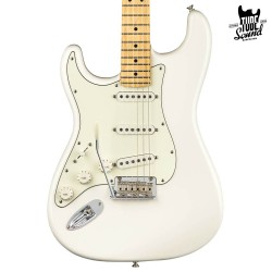 Fender Stratocaster Player MN Polar White Zurda