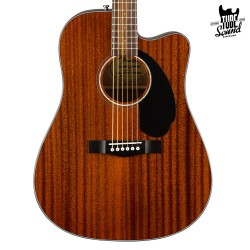 Fender CD-60SCE All-Mahogany WN Natural