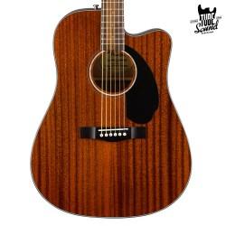 Fender CD-60SCE All-Mahogany WN Natural