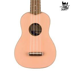 Fender Venice Soprano Ukulele WN Shell Pink