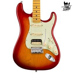 Fender Stratocaster American Ultra HSS Plasma Red Burst