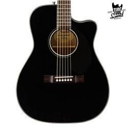 Fender CC-60SCE Concert WN Black