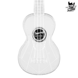 Kala KA-SWT Waterman Soprano Ukulele Transparent Ice
