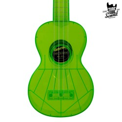 Kala KA-SWT Waterman Soprano Ukulele Fluorescent Sour Apple Green