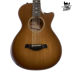 Taylor 652ce Builder's Edition V-Class Wild Honey Burst