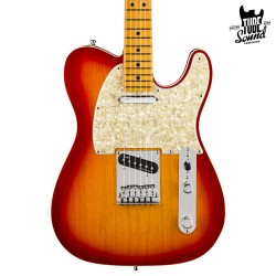 Fender Telecaster American Ultra MN Plasma Red Burst