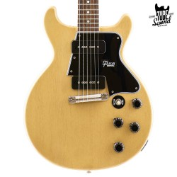 Gibson Custom Les Paul Special 60 Double Cutaway VOS TV Yellow