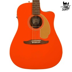 Fender Redondo Player FSR WN Fiesta Red