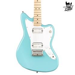 Squier Jazzmaster Mini HH MN Daphne Blue