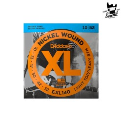D'Addario EXL140 Nickel Wound Electric Light Top Heavy Bottom 10-52