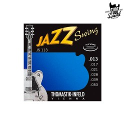 Thomastik-Infield JS113 Jazz Swing Flat Wound Electric 13-53