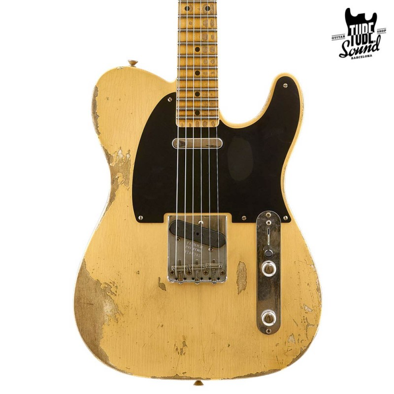 Fender Custom Shop Telecaster 52 MN Heavy Relic Aged Nocaster Blonde