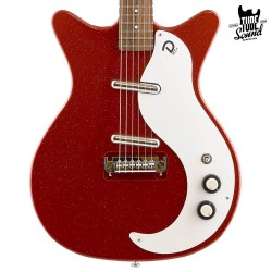 Danelectro 59M NOS+ Red Metal Flame