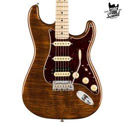 Fender Stratocaster Rarities Collection Flame Maple Top HSS MN Golden Brown
